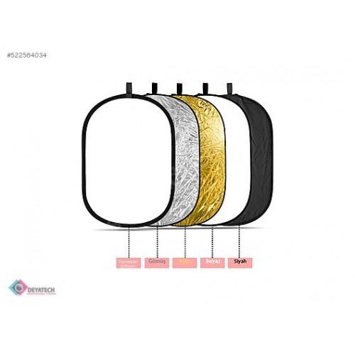Deyatech Reflektör 5in1 150x200cm pro Işık Yansıtıcı