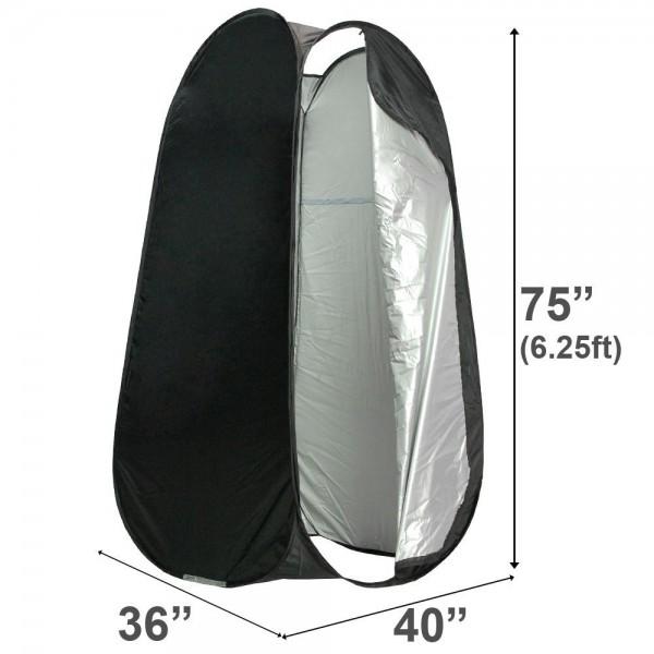 Deyatech 190cm Giyim Çadırı Elbise Degişim Kabini