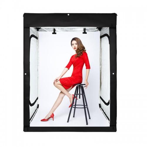 Ürün Çekim Çadırı ,Manken, Elbise, 200x120x100cm Profesiional  Stüdyo Ledli Ürün Çekim Kabini