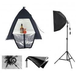 Ürün Çekim Çadır 40x40cm Profesional Mini Stüdyo Duyulu