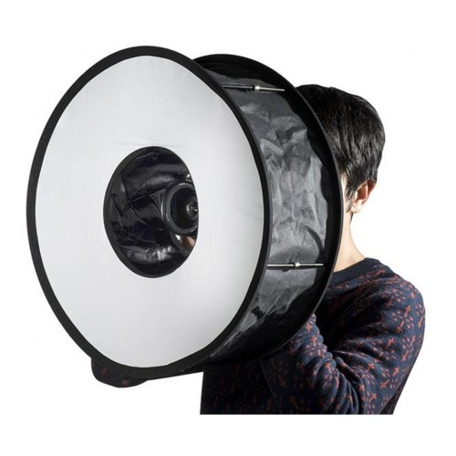 Deyatech Softbox 48cm Flaş Softbox Ring Softbox Tepe Flaşlar İçin