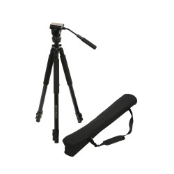 Deyatech 601e Professional Video Tripod DSLR Kamera Tripod