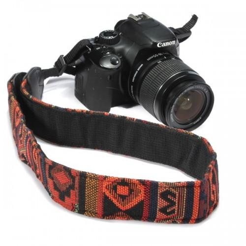 Deyatech SLR DSLR Kamera Boyun Omuz Askısı kemer Dayanıklı Pamuk için Pentax için Nikon Canon için Sony için