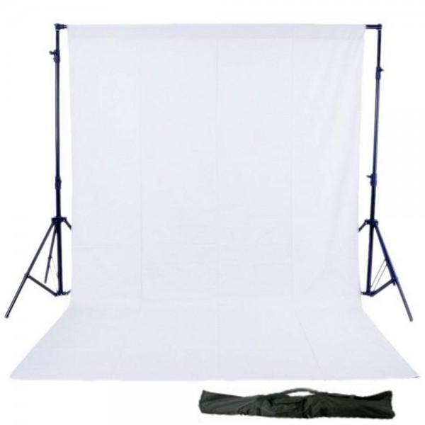 Background Stand Kit 3x3 m Beyaz  Stüdyo Fon