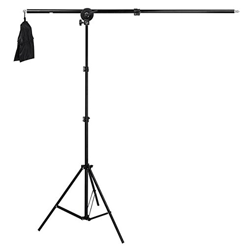 Deyatech Boom Arm Işık Light Stand-Softbox,Led,Microfon Tutucu