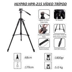 Deyatech Hlypro HRP-215 Video Tripod