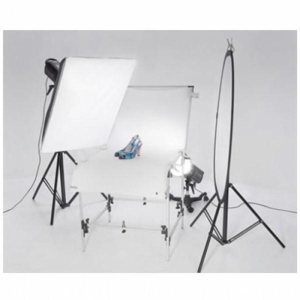 Deyatech Weifeng 60*130 cm Ürün çekim Masası Still Life Kit Sistem Ledli 5500k Professional Ürün Çekim Seti