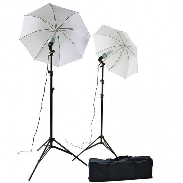 Softbox Umberlla Şemşiye 84cm Sürekli İşık Stüdyo 2m Stand Kit