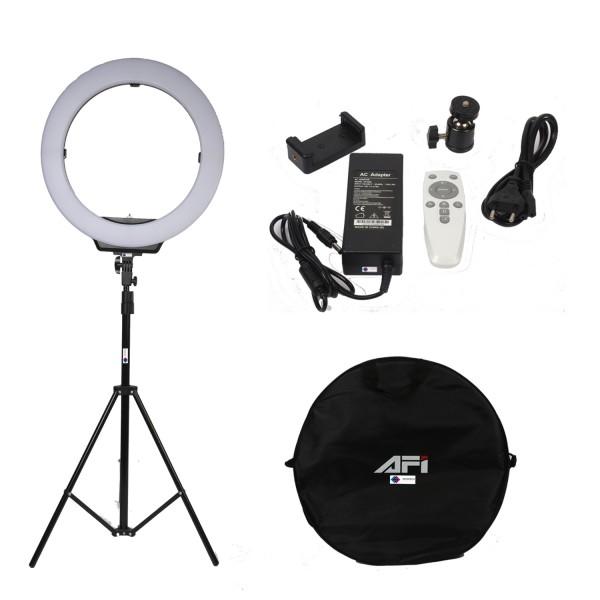 Deyatech AFİ Pro 19 İnch Ring light 90 Watt – 6500 Kelvin Kuaför ve Makyaj Çekim Işığı