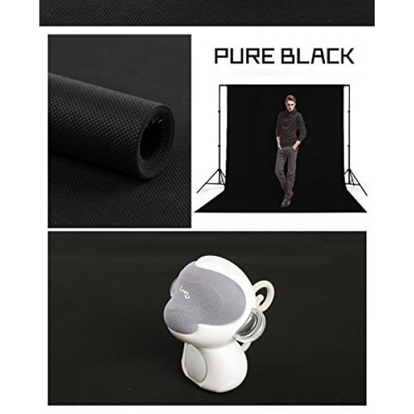BLACKBOX CHROMAKEY- SİYAH SCREEN GREENBOX SİYAH FON PERDE NON-WOVEN CLOTH YÜKSEK KALİTE FON