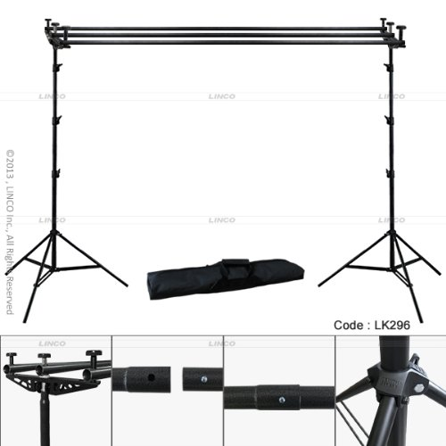Backdrop Backgourd 3Lü Cross Bar Stand Fon Standı Destek Sistemi