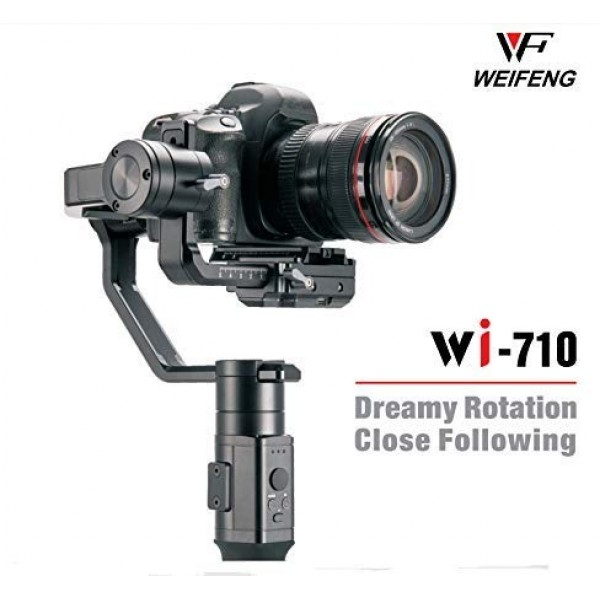 Weifeng Wi-710 3 Axis DSLR Gimbal Handheld Video Stabilizer 3.6k