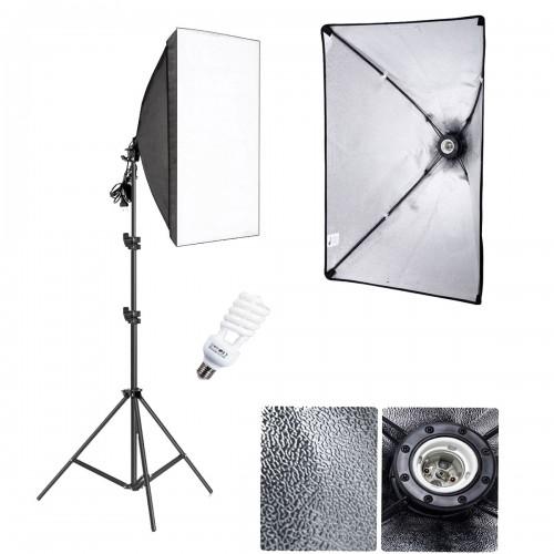 Deyatech YouTube Video ve Fotoğraf  Softbox Seti Sürekli Işık 50x70cm