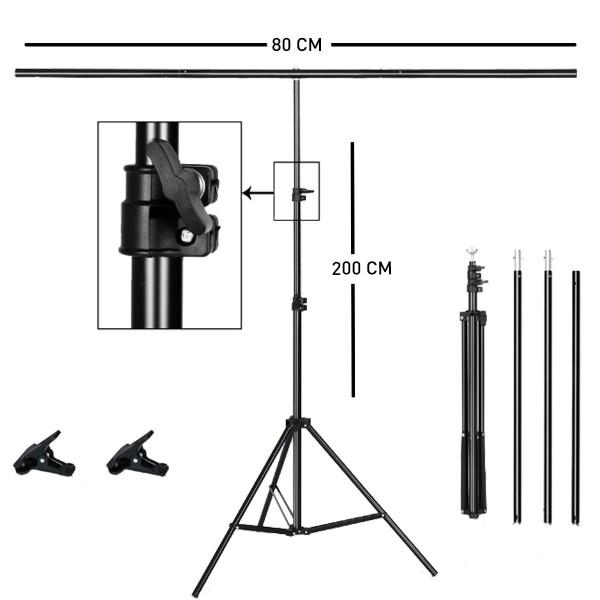 Deyatech 200cmx80 T Stand