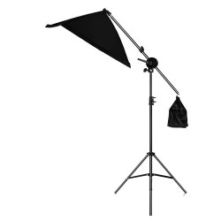 Deyatech 50X70cm Softbox Ledli Boom Arm Pro Light Led Işık Set